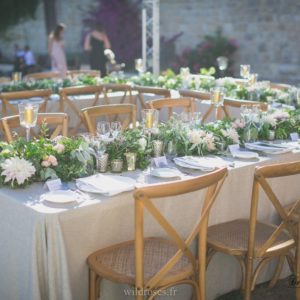 Mariage château St Georges ©Wildroses