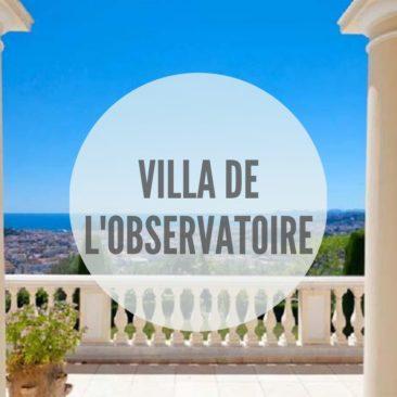 Villa de l'Observatoire, Nice